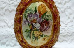 Jajko z klejem na ciepło (złote)