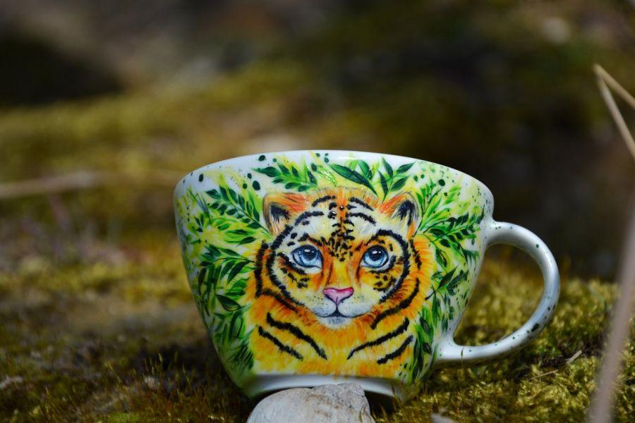 Kubek dla Twojego Tygryska z dedykacją -