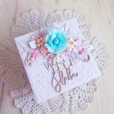 Exploding box ślubny Flowery Sweetness GOTOWY