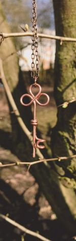 Naszyjnik - klucz do skarbu