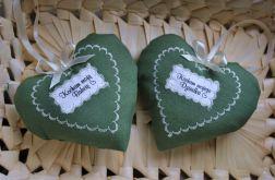 Zielone serduszko dla babci