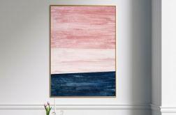Plakat abstrakcja horyzont 50X70 B2