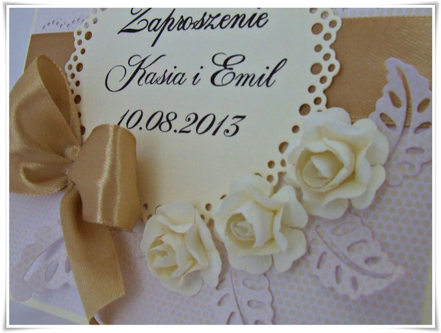 Eleganckie zaproszenia ślubne