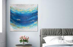 "Obraz abstrakcyjny ""Maldives II"" 50x50 cm"