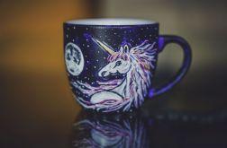 Kubek malowany - Gwiezdny Jednorożec