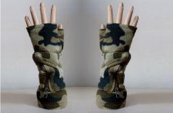 Rękawiczki moro z kieszeniami