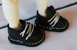 Skórzane buty dla lalki