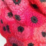 Szal freeform crochet Carmen