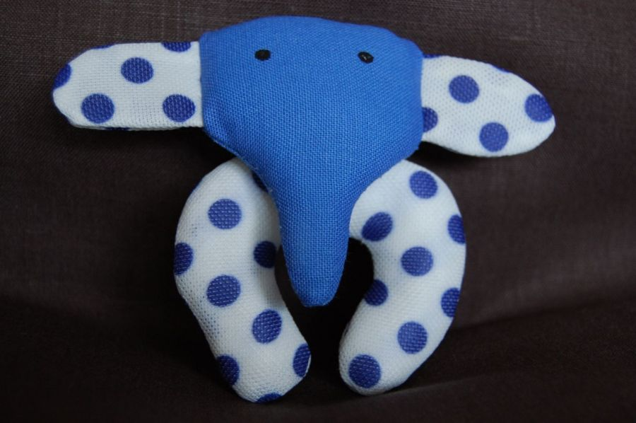 Energetyczne słoniki dla najmłodszych - zabawka ręcznie robiona