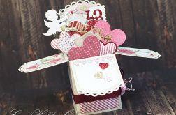 I love you - pudełko pełne miłości
