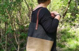 Torebka damska shopper bag WASHPAPA
