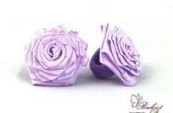 Gumki do włosów fioletowe