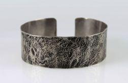Kamień - metalowa bransoleta 200611-02