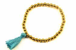 bransoletka hematyty chwost złoto