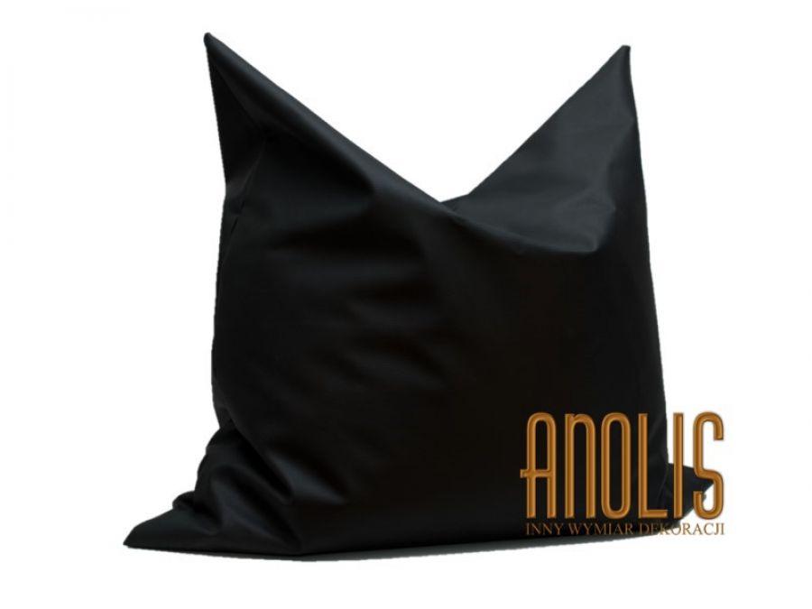 5420df52386b0 Pufa typu Beanbag czarna - ANOLIS InnyWymiarDek