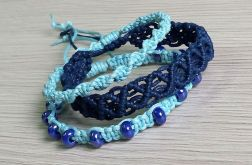 Makrama blue set