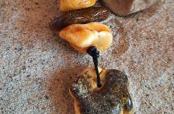 Naszyjnik z bałtyckiego bursztynu