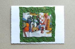 Kartka uniwersalna - kubizm