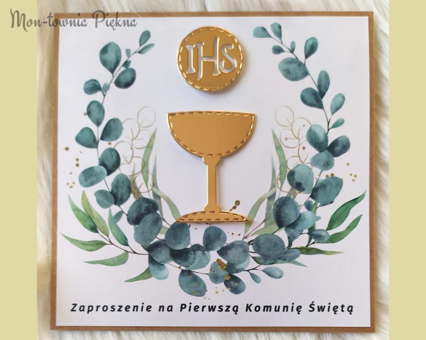 Zaproszenia na I Komunię Św. wz9