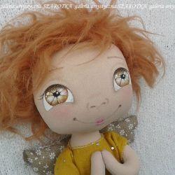 ANIOŁEK lalka - dekoracja tekstylna, OOAK /16