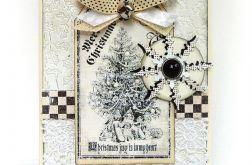 Kartka świąteczna Białe Święta