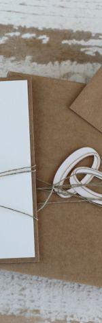 Oryginalna kartka ślubna pudełko koperta rt6