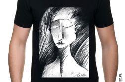 Szkic - T-shirt S-5XL - różne kolory.