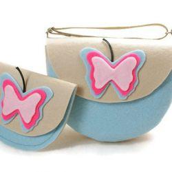Niebieskie motylki