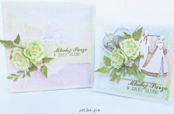 Pastelowa kartka na Ślub