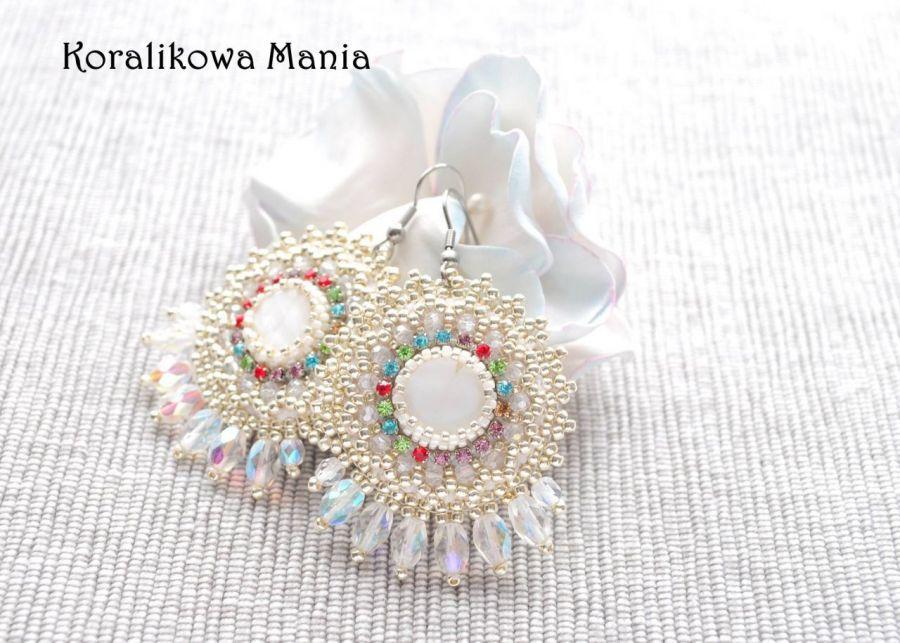 Masa perłowa i kryształki