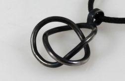 Zaplątany - srebrny wisior 200901-01