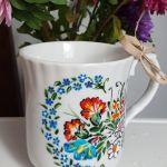 Kubek polskie kwiaty- możliwość dedykacji - piękne polne kwiaty