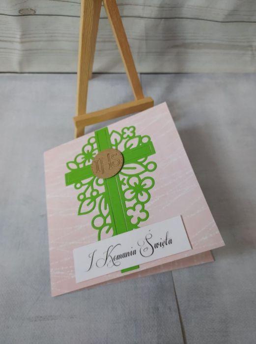 kartka z okazji I Komunii Świętej -