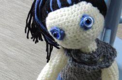 Lalka szydełkowa - Marynia