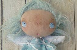 ANIOŁEK - lalka tekstylna,cute angel 14, OOAK