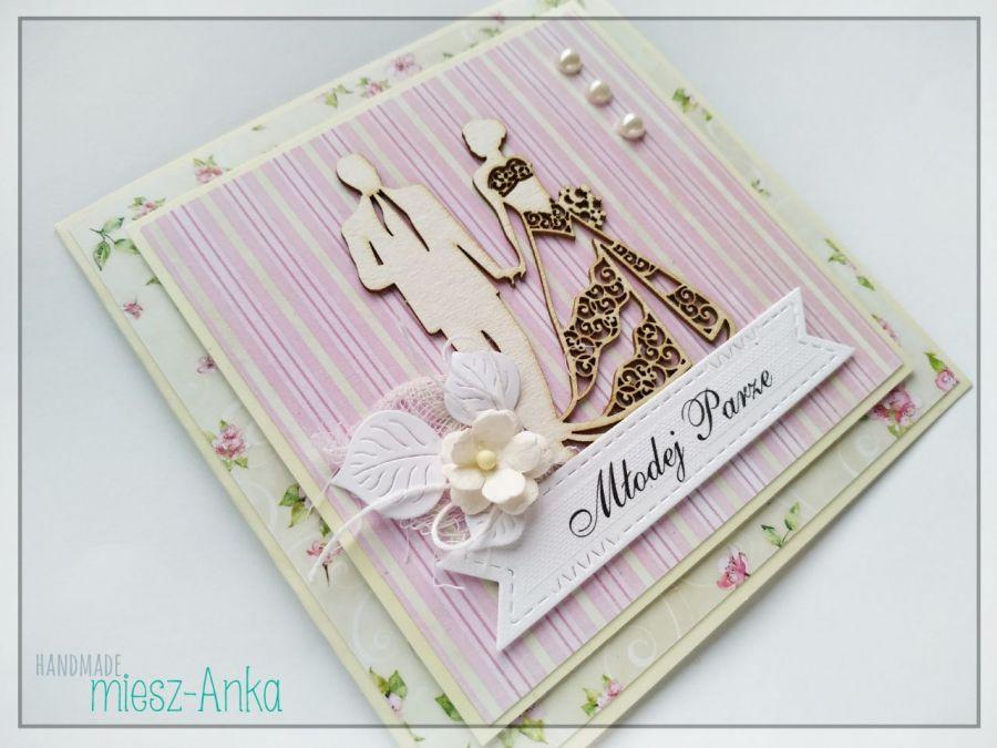 Wyjątkowa KARTKA na wyjątkowy ŚLUB 3 - Ślub, Młodej Parze, Młoda Para, Nowożeńcom