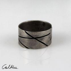 Metalowa obrączka - rozm. 18 - 191023-03
