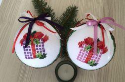 Bombki haftowane prezenty