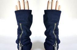 Rękawiczki mitenki z kieszeniami