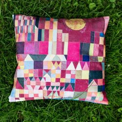 Poszewka - Zamek i słońce, Paul Klee
