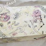 Szkatułka Vintage - vintage szkatuła  1