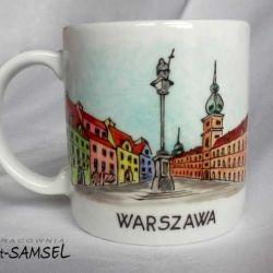 Kubek WARSZAWA - zamek