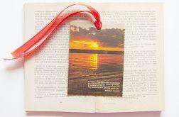 Zakładka do książki - zachód słońca 3