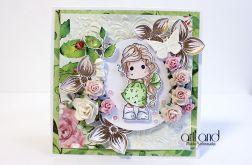 Wiosenna Tilda - kartka urodzinowa ArtLand