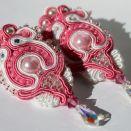 Różowo - białe