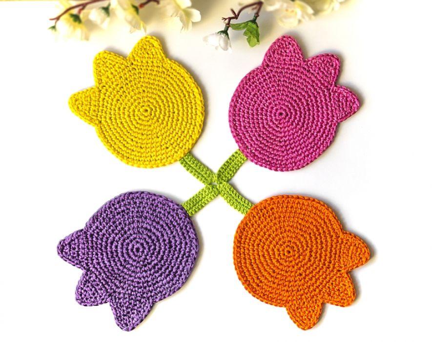 Podkładki  tulipany