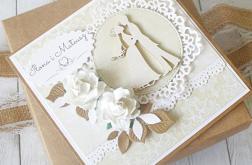 Kartka ślubna w pudełku - rustykalna Natura.1