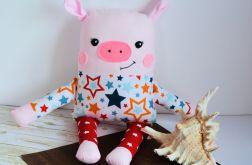Wesoła świnka - Kamil - 39 cm