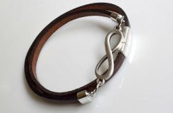 brown leather Infinity