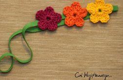 Opaska z kwiatkami